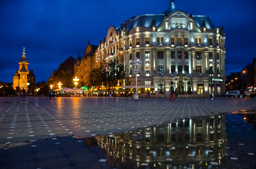 Photo Gallery: Timisoara on a cloudy, rainy day