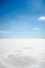 Toz Gölü, the salt lake in the middle of Turkey