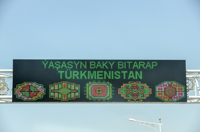 TURKMENISTAN: Control is good, surveillance is better