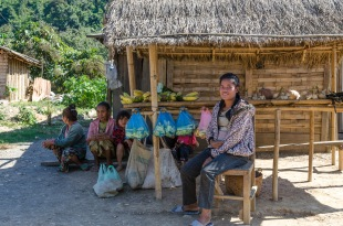 People on the countryside of Laos