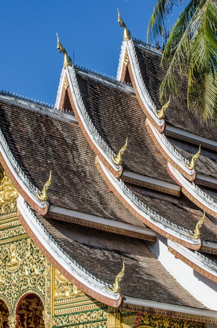 Haw Pha Bang, a buddhist temple in Luang Prabang, Laos