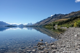 Somewhere between Queenstown and Glenorchy, New Zealand