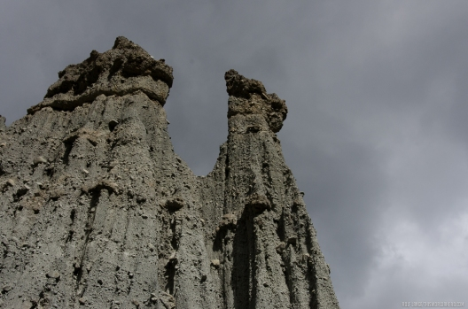 Pinnacles Rocks in Aorangi Forest Park, New Zealand
