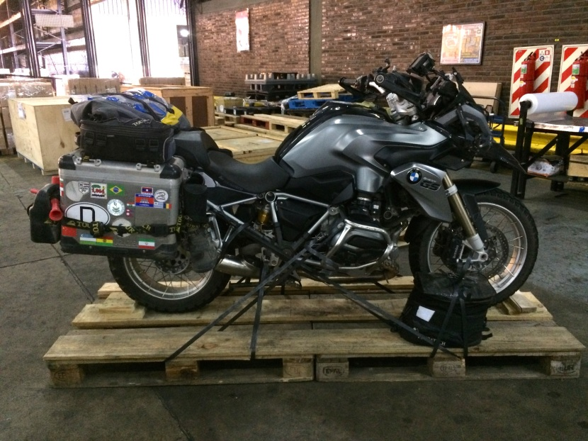 More than hand luggage: how to airfreight a motorcycle.