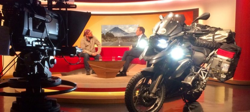 Video: Comeback interview on German televisionshow